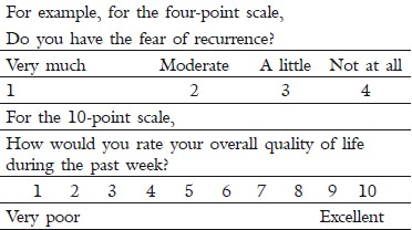 Of life quality questionnaire pdf