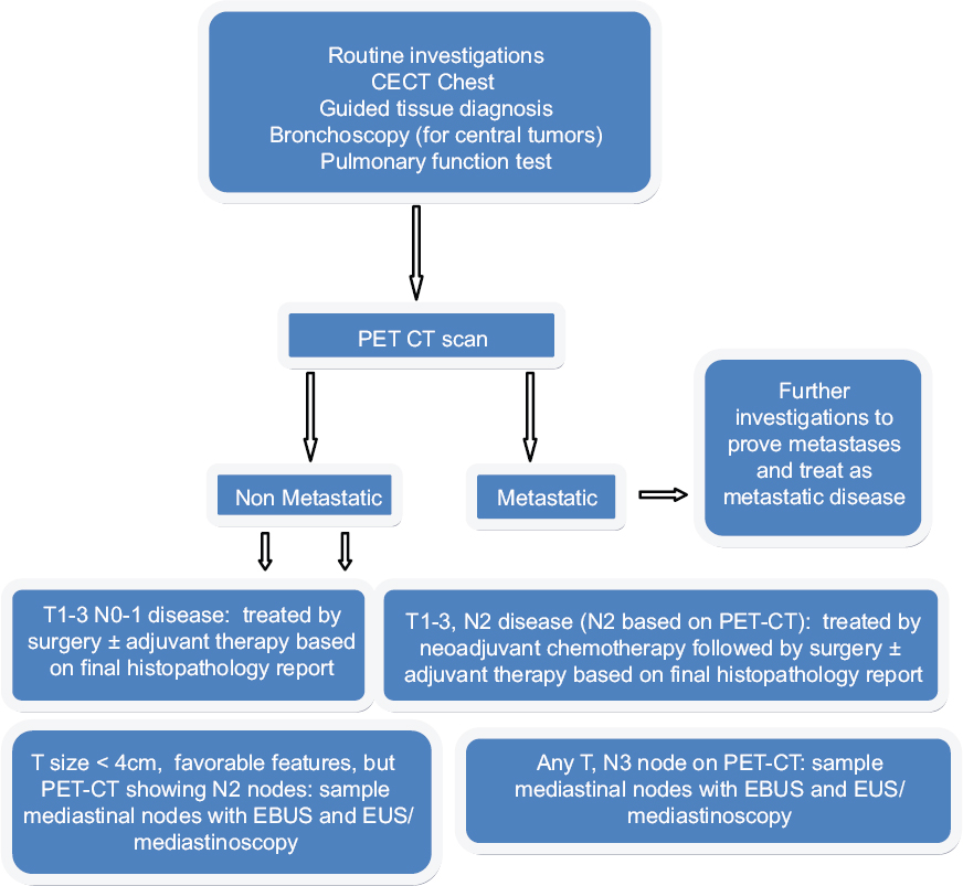 Mediastinal Staging For Non Small Cell Lung Cancer Revisited It Is